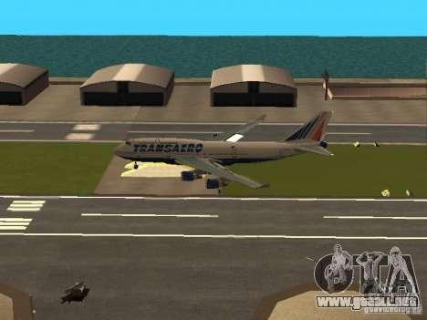 Boeing 747-400 para visión interna GTA San Andreas