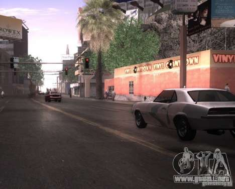 ENBSeries para Pack Ultra Vegetetions para GTA San Andreas tercera pantalla