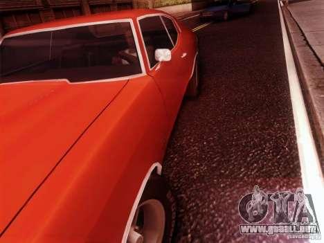 Chevy Chevelle SS 1970 para la visión correcta GTA San Andreas