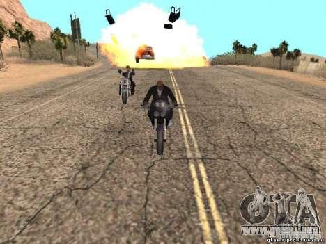Bomba para GTA San Andreas octavo de pantalla