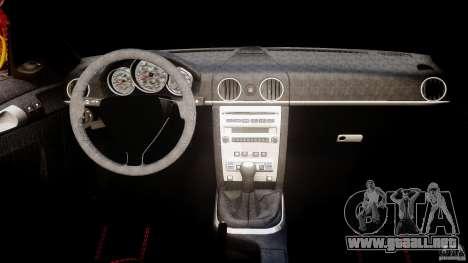 Ruf RK Spyder v0.8Beta para GTA 4 visión correcta