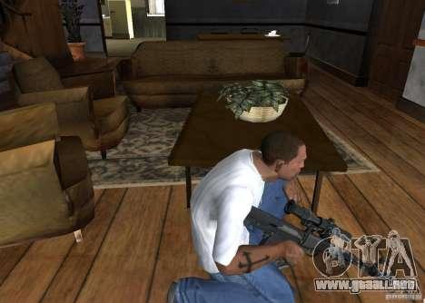 IED para GTA San Andreas tercera pantalla