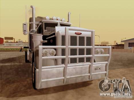 Peterbilt 378 Custom para GTA San Andreas left