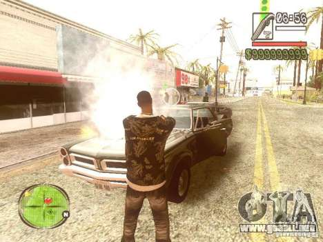 Wild Wild West para GTA San Andreas quinta pantalla