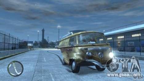VW Transporter T2 para GTA 4 vista lateral
