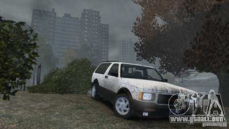 GMC Typhoon 1993 v1.0 para GTA 4 vista superior