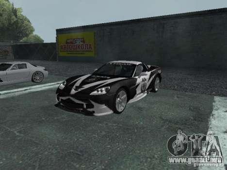 Chevrolet Corvette C6 para las ruedas de GTA San Andreas