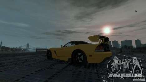 Dodge Viper SRT-10 ACR 2009 para GTA 4 visión correcta