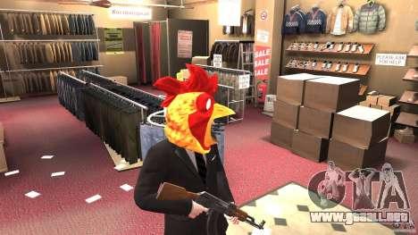 CluckingBell Hat para GTA 4 segundos de pantalla