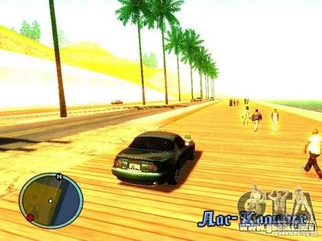 Mazda Miata 1994 para la visión correcta GTA San Andreas