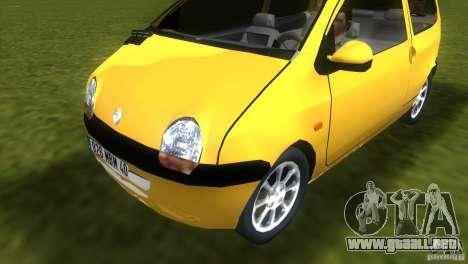 Renault Twingo para GTA Vice City vista lateral izquierdo