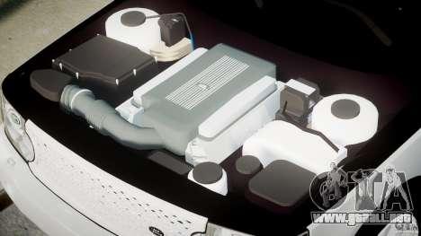 Range Rover Supercharged 2009 v2.0 para GTA 4 visión correcta