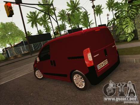 Peugeot Bipper para GTA San Andreas left