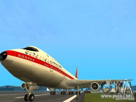 Boeing 747-100 para GTA San Andreas
