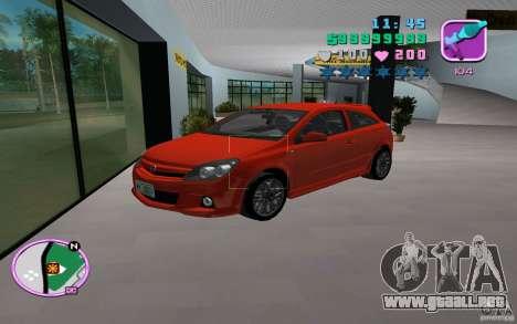 Opel Astra OPC 2006 para GTA Vice City