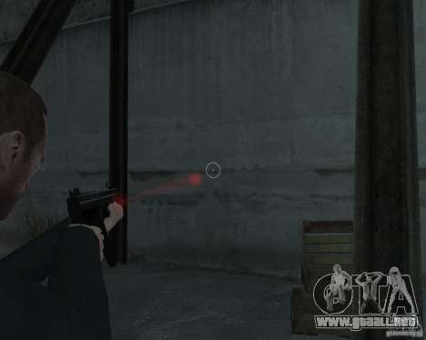 Flashlight for Weapons v 2.0 para GTA 4 tercera pantalla