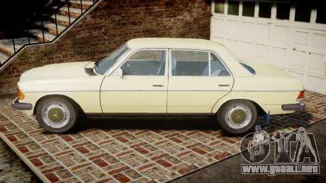 Mercedes-Benz 230E 1976 para GTA 4 left