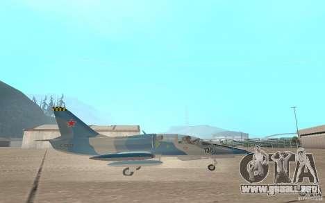 L-39 Albatross para GTA San Andreas vista hacia atrás