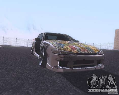 Nissan Silvia S15 Street para GTA San Andreas left