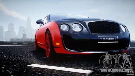 Bentley Continental SS 2010 Le Mansory [EPM] para GTA motor 4