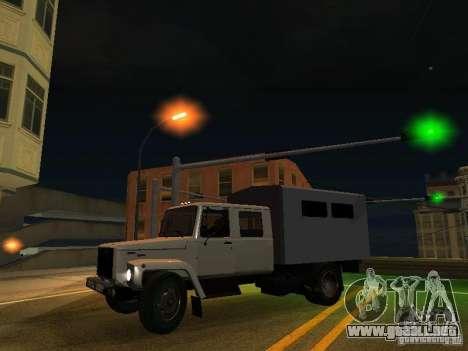GAZ 3309 Huntsman para visión interna GTA San Andreas