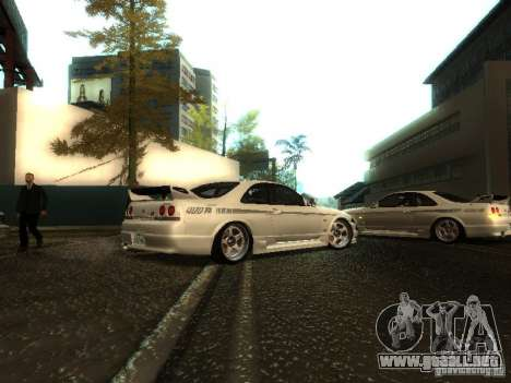 Nissan Skyline Nismo 400R para la visión correcta GTA San Andreas