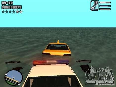 HUD by Neo40131 para GTA San Andreas tercera pantalla