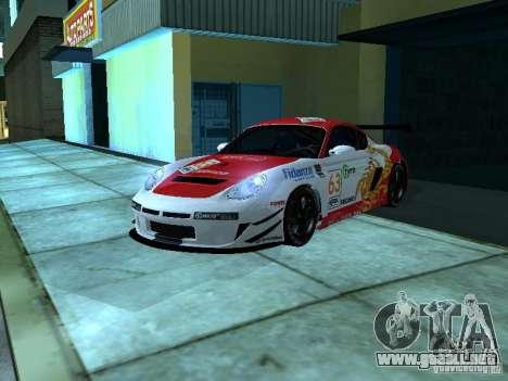 Porsche Cayman S NFS Shift para visión interna GTA San Andreas