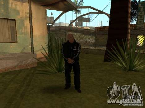 Dwayne The Rock Johnson para GTA San Andreas segunda pantalla