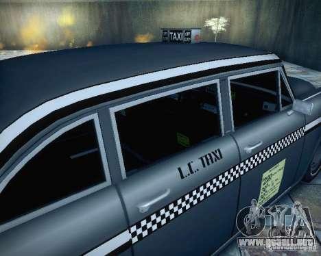 Diablo Cabbie HD para GTA San Andreas vista hacia atrás