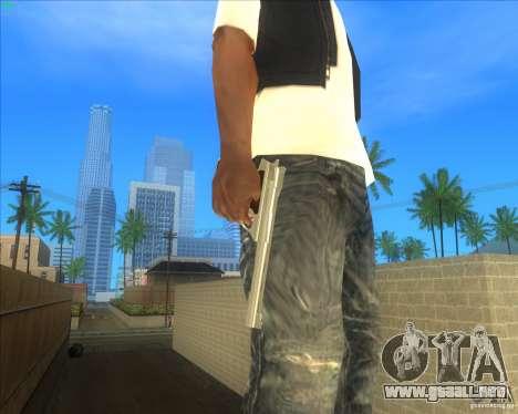 .44 Automag from TBOGT para GTA San Andreas segunda pantalla