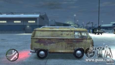 VW Transporter T2 para GTA 4 visión correcta