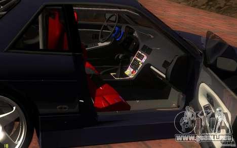 Nissan Silvia S13 Onevia para la vista superior GTA San Andreas
