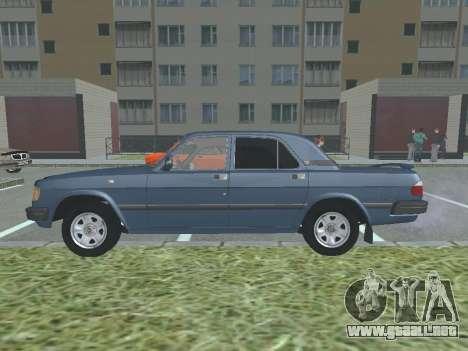 GAZ 3110 Volga v1.0 para GTA San Andreas left
