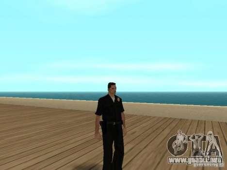 Policías cobardes para GTA San Andreas sucesivamente de pantalla