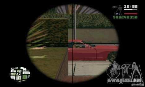 El KSVK (IOS-98) para GTA San Andreas tercera pantalla