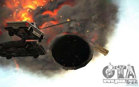 Agujero negro para GTA San Andreas quinta pantalla