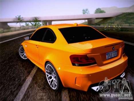 BMW 1M E82 Coupe para GTA San Andreas left