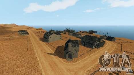 Red Dead Desert 2012 para GTA 4 segundos de pantalla