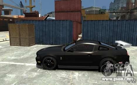 Ford Shelby GT500 v.1.0 para GTA 4 left