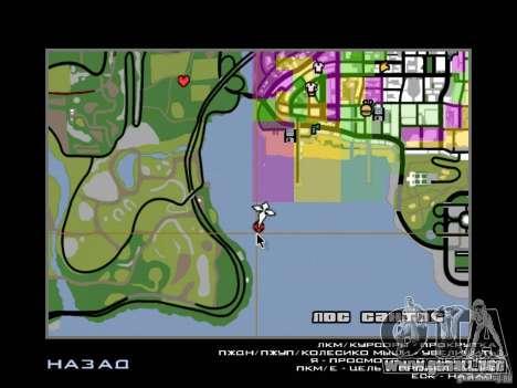 Mansión de la isla para GTA San Andreas novena de pantalla