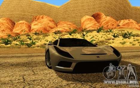 ENBSeries HD para GTA San Andreas tercera pantalla