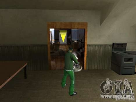 CLEO armas para GTA San Andreas quinta pantalla