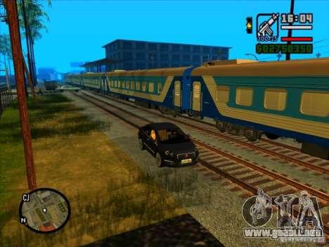 Largo tren para GTA San Andreas