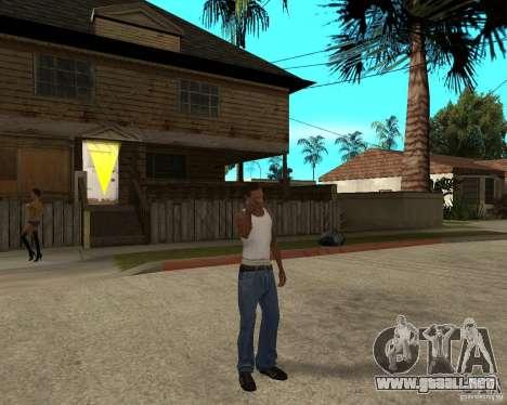 Nokia N97 para GTA San Andreas tercera pantalla