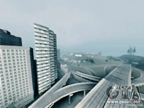 Setan ENBSeries para GTA San Andreas tercera pantalla