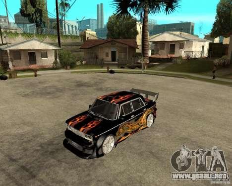 Melodía 2106 VAZ GTX para GTA San Andreas left