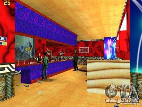 New Bar Ganton v.1.0 para GTA San Andreas tercera pantalla