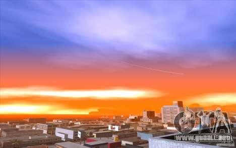 Timecyc Los Angeles para GTA San Andreas sexta pantalla