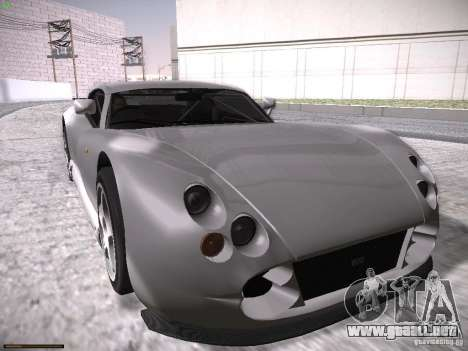 TVR Cerbera Speed 12 para vista inferior GTA San Andreas